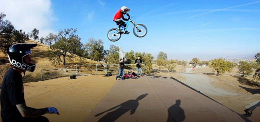 10 Year Old Jackson Goldstone Jumps The MegaRamp
