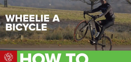 How To Wheelie A Bicycle