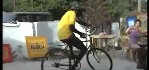 Wonderful bicycle balancing