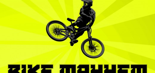 Bike Mayhem Extreme Mountain Racing Trailer