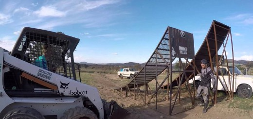 Cyclist towed into MX jump – Barry Nobles
