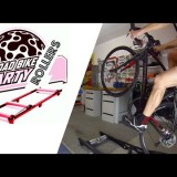 Road Bike Rollers Party (homage & parody to Martyn Ashton's trial bicycle adventures)