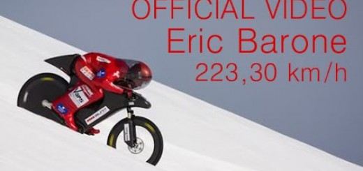 (OFFICIAL) Eric Barone – 223,30 km/h – World mountain bike speed record – Vars Speed Challenge 2015